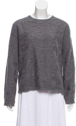 Alexander Wang Patterned Crew Neck Sweater