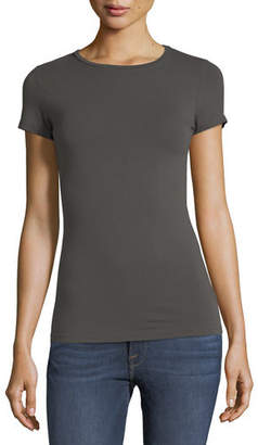 Neiman Marcus Majestic Paris for Soft Touch Short-Sleeve Tee