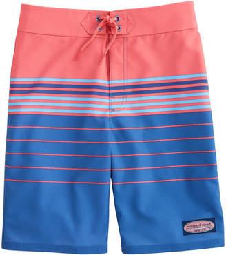 7fd765afb6 Vineyard Vines Boys Stripe Stretch Board Shorts
