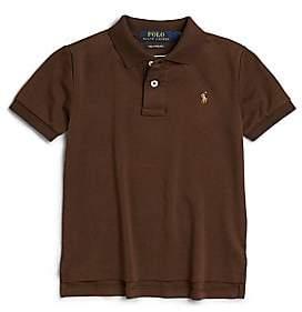 Ralph Lauren Toddler's& Little Boy's Pima Cotton Polo Shirt