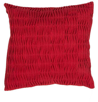 """Jaipur Living Living Florenza Red Solid Poly Throw Pillow 20"""" & Reviews - Decorative & Throw Pillows - Bed & Bath - Macy's"""