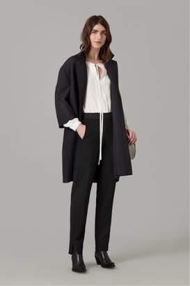 Amanda Wakeley Midnight Cloque Coat