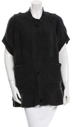 Stella McCartney Patterned Short Sleeve Cardigan