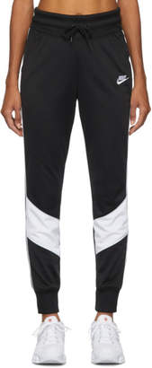 Nike Black Windrunner Jogger Lounge Pants
