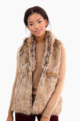 Parkes Run Biltmore Faux Fur Vest