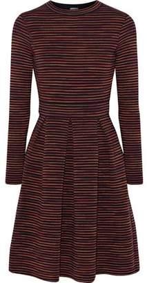 M Missoni Intarsia Wool-Blend Mini Dress