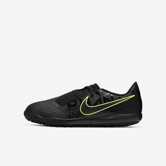 Nike Little/Big Kids' Turf Soccer Shoe Jr. Phantom Venom Academy TF
