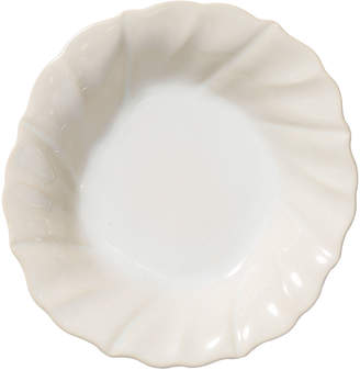 Vietri Incanto Stone Ruffle Pasta Bowl, Linen