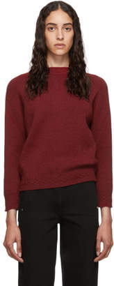 A.P.C. Red Wool Wicklow Sweater