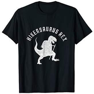 Hikeasaurus Rex Funny Dinosaur T Rex Hiking T-Shirt