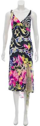 Yigal Azrouel Sleeveless Printed Dress