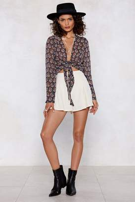 Nasty Gal Cut Above the Rest Shorts