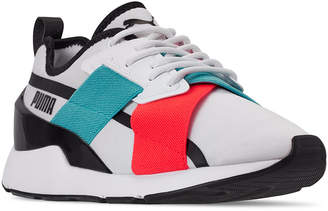 Puma Women Muse X2 Gloss Casual Sneakers from Finish Line
