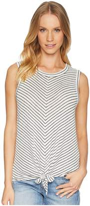 BB Dakota Rosanna Soft Tie Front Tank Top Women's Clothing