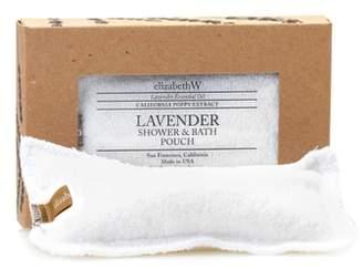 elizabeth W ELIZABETHW Lavender Shower & Bath Pouch