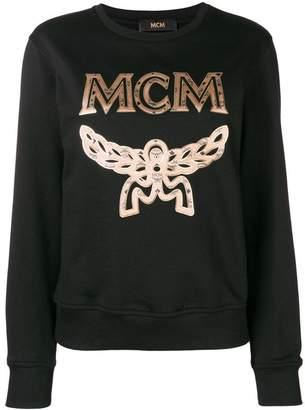 MCM embroidered logo sweatshirt
