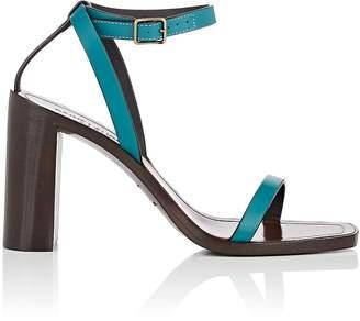 Saint Laurent Women's Leather Ankle-Strap Sandals