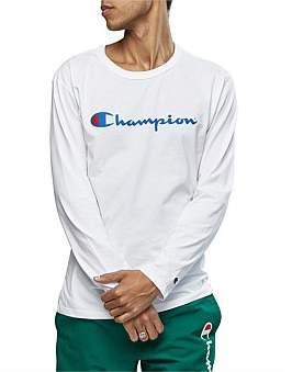 Champion Chmp Scrpt L/S Tee