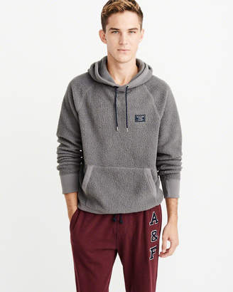 Abercrombie & Fitch Sherpa Hoodie