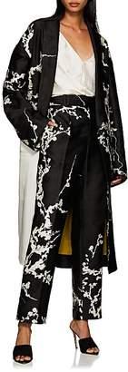 Haider Ackermann Women's Floral Jacquard Oversized Coat