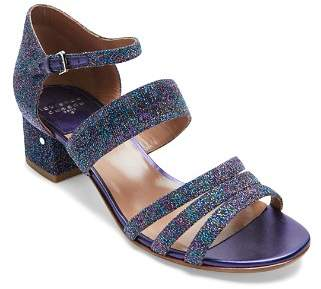 Laurence Dacade Women's Ninou Multicolor Metallic Low-Heel Sandals