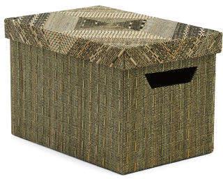 Made In Indonesia Small Storage Box