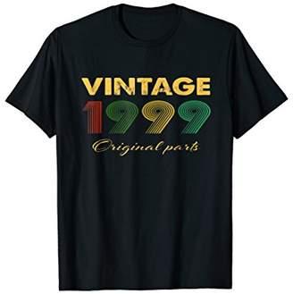 1999 Vintage Funny 19th Birthday Gift T Shirt