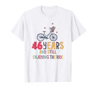 Julykana 46th Wedding Anniversary Gifts Still Enjoying The Ride Shirt