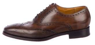 Canali Leather Wingtip Brogues