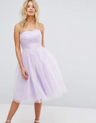 Hell Bunny Bandeau Tulle Dress