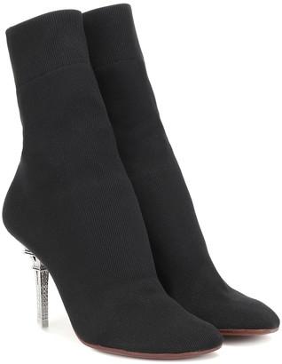 d2f8f4eb1afaf8 Vetements Eiffel Tower sock ankle boots