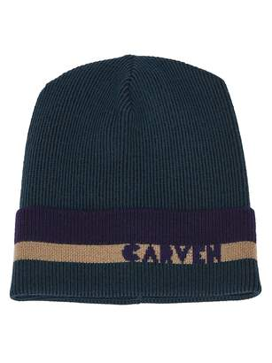 Carven Ribbed Knit Beanie