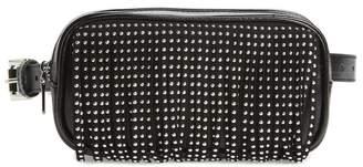 35d3593e3d8 Steve Madden Studded Fringe Faux Leather Belt Bag