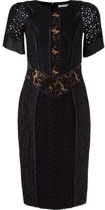 Martha Medeiros lace patchwork dress