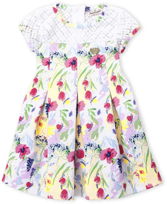 Juicy Couture Girls 4-6x) Floral Lace Yoke Dress