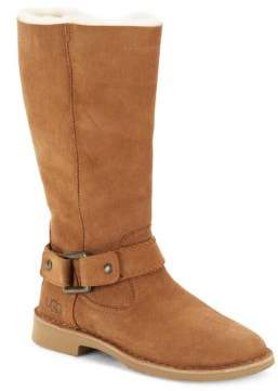 Braiden Fur Lined Boots $250 thestylecure.com