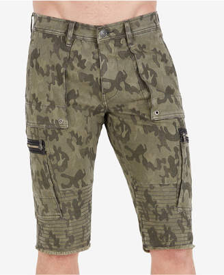 True Religion Men's Camo Cargo Shorts