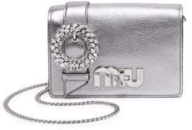 Miu Miu My Miu Metallic Madras Bag