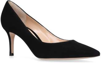 Gianvito Rossi Suede Gianvito Pumps 70