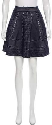 Alexander McQueen Knit Circle Skirt