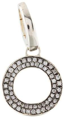 Ippolita Diamond Wavy Circle Charm