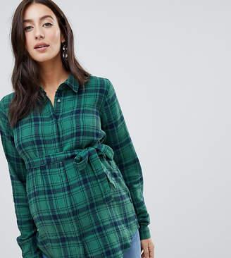 Mama Licious Mama.Licious Mamalicious check shirt