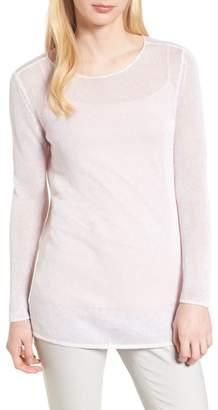 Nic+Zoe Poolside Linen Blend Sweater