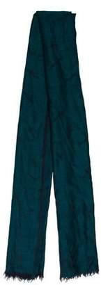 Rag & Bone Patterned Wool Scarf