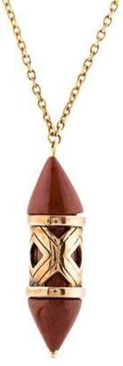 Pamela Love Jasper Pendant Necklace