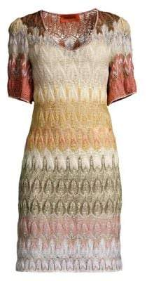 Missoni Short Sleeve Knit Dress