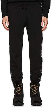 Off-White Men's Striped Cotton Terry Track Pants