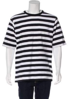 Dries Van Noten Woven Striped T-Shirt