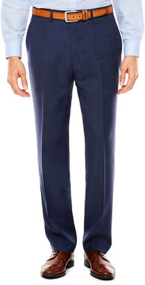 Claiborne Plaid Slim Fit Stretch Suit Pants