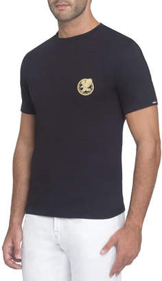Stefano Ricci Embroidered Jersey T-Shirt